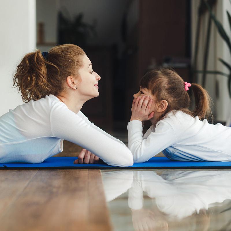Yoga famiglia a Bassano del Grappa